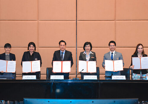 KKUIC signed a memorandum of agreement in academic cooperation with 4 international colleges on January 17, 2020