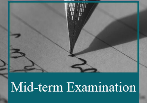 Mid-term Examination Schedule, Rules, and Regulations.