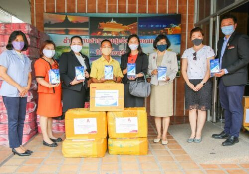 KKU Cooperates with Yunnan University, donates 8,000 surgical masks through the COVID-19 outbreak