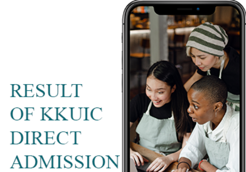 Result of KKUIC Direct Admission 3