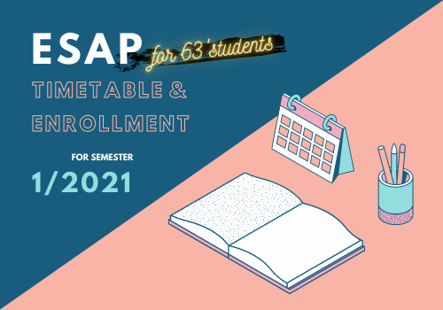 ESAP Timetable and Enrollment for Students with ID 63xxxxxxx-x